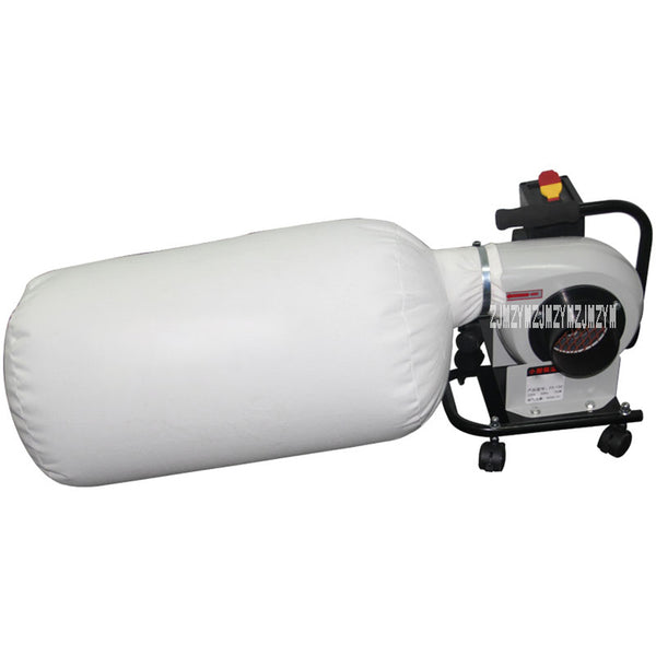 FS-150 Woodworking Vacuum Cleaner Mobile Type Dust Collector Household Industry Vacuum Dust Separator Bag Dust Removal Equipment