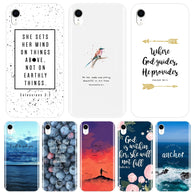Bible Verse Quotes Text Back Cover For iPhone 6 S 6S 7 8 X XR XS Max Soft Phone Case Silicone For Apple iPhone 6 S 6S 7 8 Plus