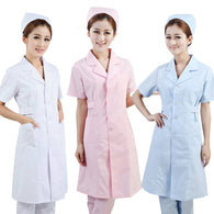 new women Medical Coat Clothing Physician Services Uniform Nurse Clothing Long-sleeve Polyester Protect lab coats Cloth 3 color