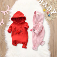Winter Funny Baby Clothes New Born Baby Clothes Warm Baby Kids Boy Girl Infant Romper Jumpsuit Baby Winter Clothes Infant Romper