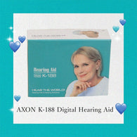 AXON K-188 digital hearing aid sound voice amplifier adjustable sound mini device old man deaf can hear clear sound