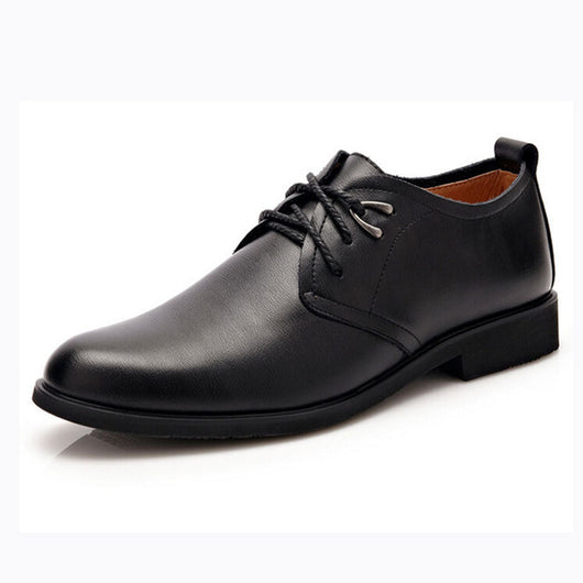 Tangnest Men Shoes Fashion Man-made Leather Dress Shoes Round Toe Men Wedding Shoes Men Casual Business Flats Size 38~44 XMP540