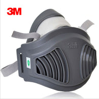 3M 1211+10pc1701Filter cotton Half Face Gas Mask Dust Anti industrial conatruction Dust pollen Haze poison Family Professional
