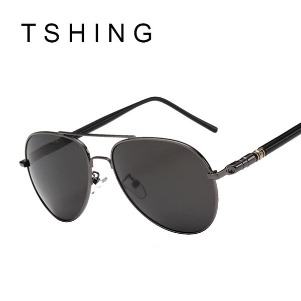 TSHING Fashion Polarized Sunglasses Men Women Brands Driver Sunglasses New Male and Female Sun Glasses For Driving Oculos UV400