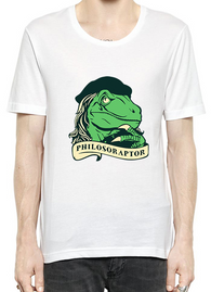 Philosoraptor T-Shirt For Men