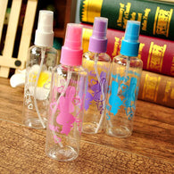3PCS Empty Plastic Portable Bottle Spray Perfume Atomizer Travel Bottle Parfume Bottle Refillable Empty Cosmetic Containers