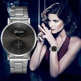 Luxury Fashion Men Watches Hours Simply Design Watches Stainless Steel Quartz WristWatches For Men Relogios masculino