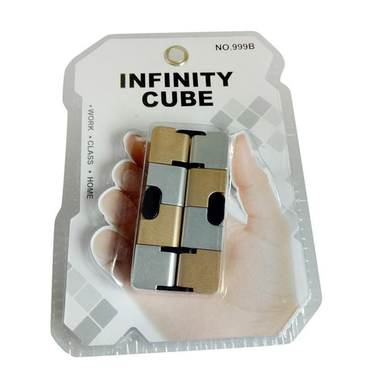 Cube Infinity Cube Mini For Stress Relief Fidget Anti Anxiety Stress Funny decompression magic square gold cube toys for kids