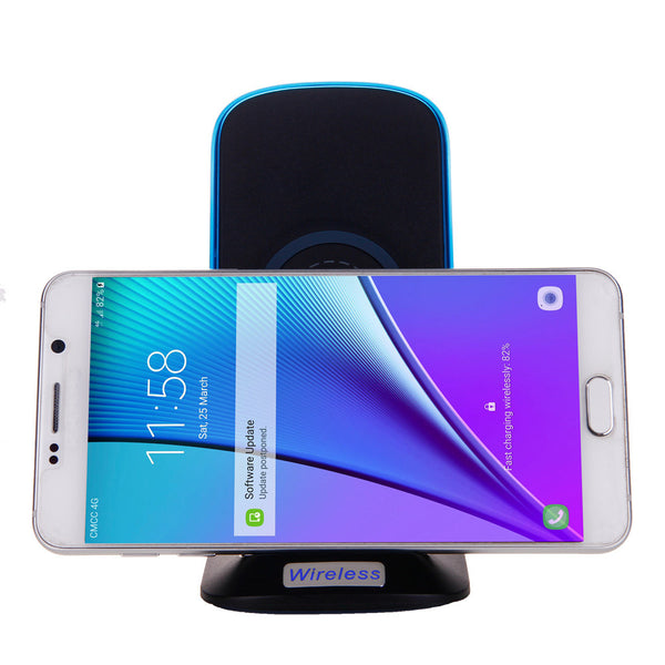 Universal Mobile Phone Chargers 2017 Qi Wireless Power Charger Charging Pad For Samsung Galaxy S8/S8 Plus#25