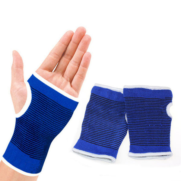 Support Wrist Gloves Hand Palm Gear Protector Elastic Brace Gym Sports Wristic Protector short Gloves Wrist Glove