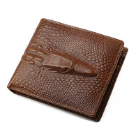 JINBAOLAI Men Business Cow Leather Credit/ID Card Holder Billfold Mens Purse #4M