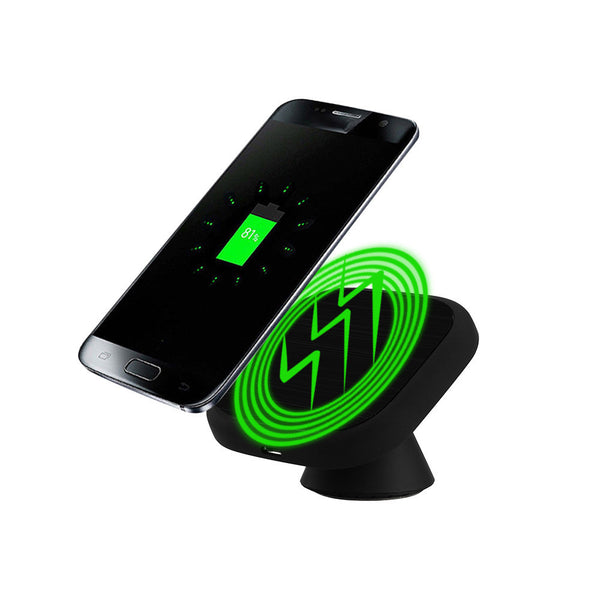 Qi Wireless Car Charger For Moblie Phone 2017 Charging Pad Magnetic Stand For Samsung Galaxy S8 / S8 Plus Quick Charger#25