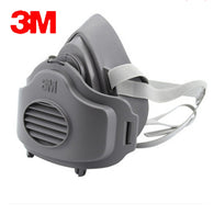 3M 3200+10pc3701CN Filter cotton Half Face GAS Mask Respirator Safety Protective Face Mask Anti Dust  Anti Organic Vapors