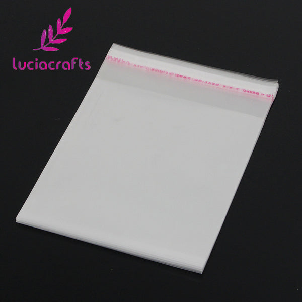 Lucia crafts Multi Sizes Option Packaging Plastic Package Bags Self Adhesive Seal Storage bag 19010001