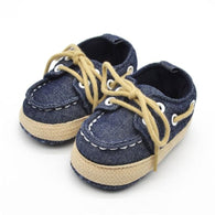 Sapatos Crochet Baby Shoes First Walkers Chaussure Enfant Brand Baby Canvas Cross-Tied Shoes Non Slip