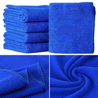 Auto Care 5-Pack Car Microfiber Glass Cleaning Towels Stainless Steel Polishing Shine Cloth Window Windshield Cloth 25x25