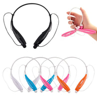 1pc Stereo Bluetooth 4.0+EDR Wireless Headset Headphone Neckband Style Earphones for iPhone for Samsung