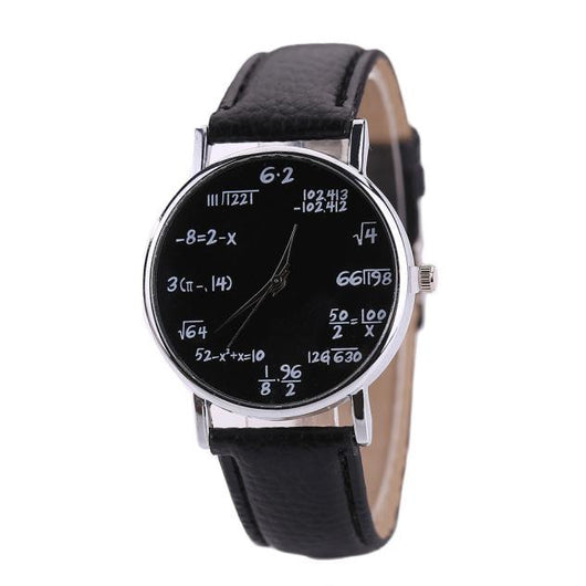 Women Mens Leather Stainless Steel Watch Sport Quartz Wrist Watch