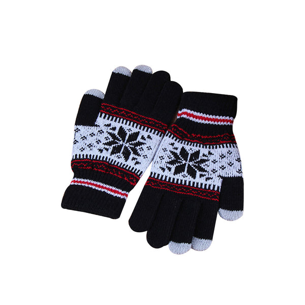 Women Knit Gloves Mittens Touchscreen Glove Winter Hand Warmer for Women