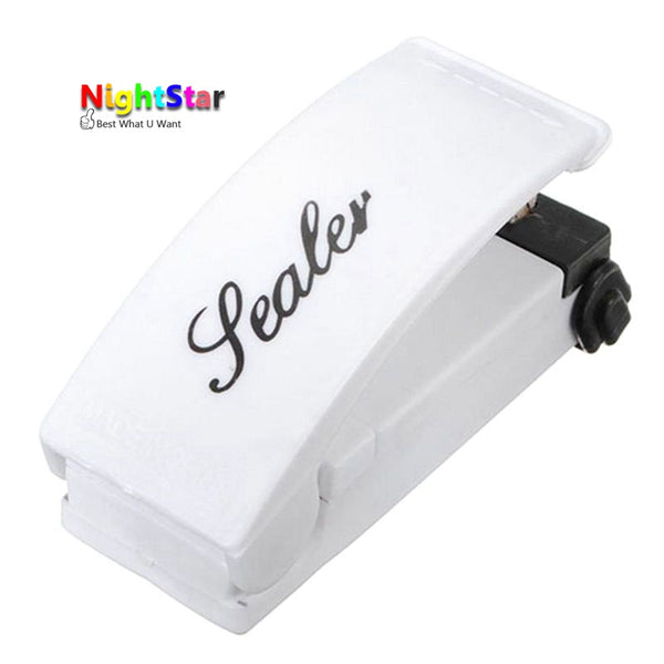 Portable Mini Home Heat Sealing Machine Seal Packing Plastic Bag Sealer Home Daily Tools