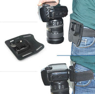 K-BM1 DSLR Digital Camera Waist Belt Mount / Button / Holder for Canon Nikon Pentax