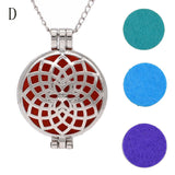 Vintage Locket Essential Oil Diffuser Necklace And Pad Fragrance A