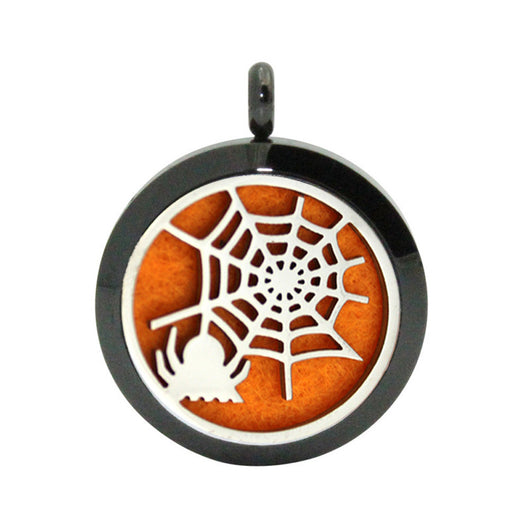 Halloween Locket Necklace Aromatherapy Fragrance Essential Diffuser Pendant