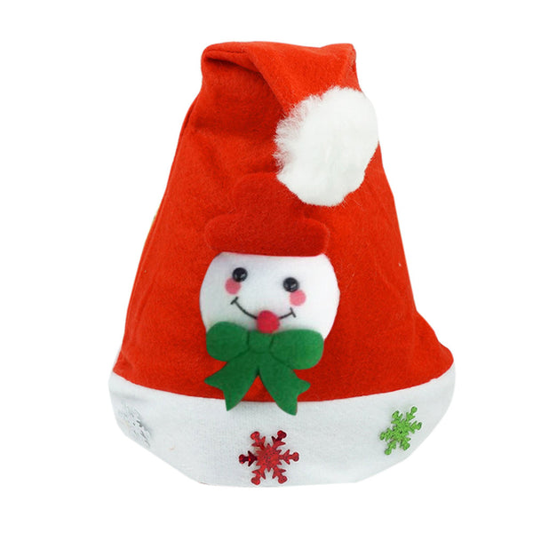 Kids Children Christmas Santa Claus Reindeer Snowman Xmas Gif Red Hat