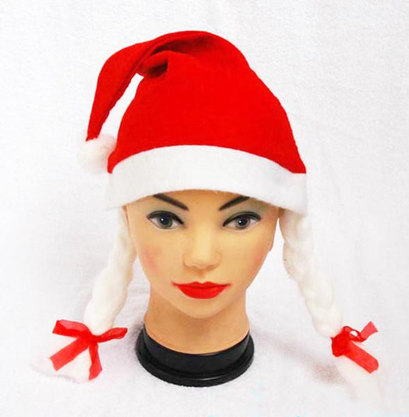 Hot Merry Christmas Party Santa Claus Hats Xmas Cap