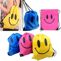 Face Drawstring Bag Mochila Swimming Bags School bags For Girls And Boys Cartoon Kids Backpack Fashion