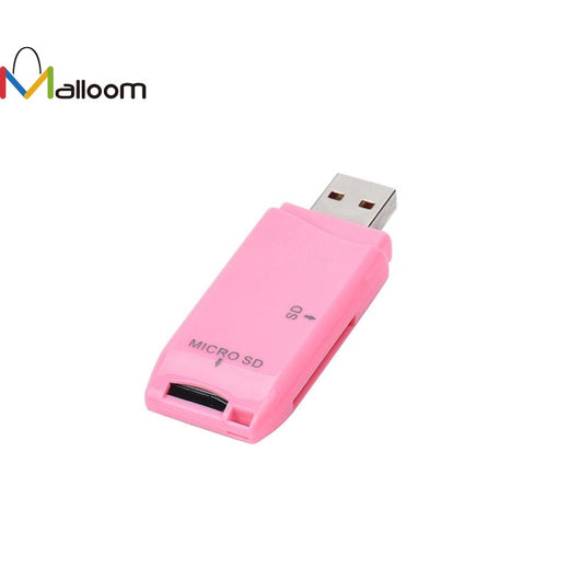 2017 Wholesale Price Colorful MINI USB 2.0 Micro SD/SDXC TF Card Reader Adapter Micro Card Reader #20