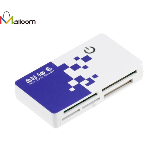 2pcs/lot All in 1 USB Memory Usb 2.0 Micro SD TF Card Reader Adapter For M2 SD SDHC Mini SD TF Card#20