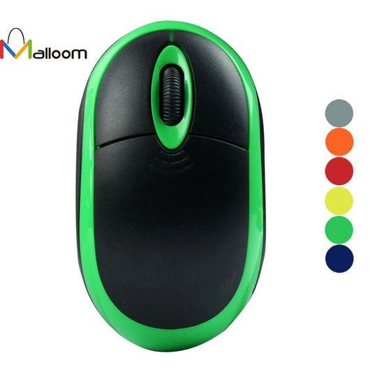 Malloom High Quality  1PC 2.4GHz Wireless Optical 3D Buttons Mice Receiver Game Mouse