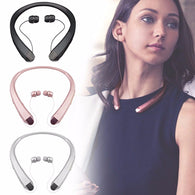Portable Bluetooth Headset Sport Stereo Wireless Headphone Fashion Neck Hanging Earphone for Smartphone HBS910