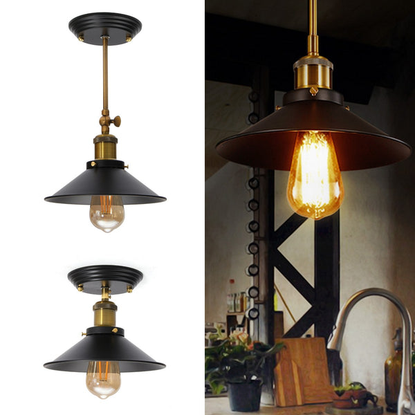 Vintage Pendant Lights Loft Pendant Lamp Retro Hanging Lamp Lampshade Restaurant Bar Coffee Shop Home Lighting Luminarias