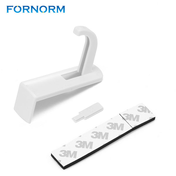 FORNORM Universal Headphone Holder Hanger Wall Hook PC Monitor Stand Headphone Accessories Headset Hanger Black White