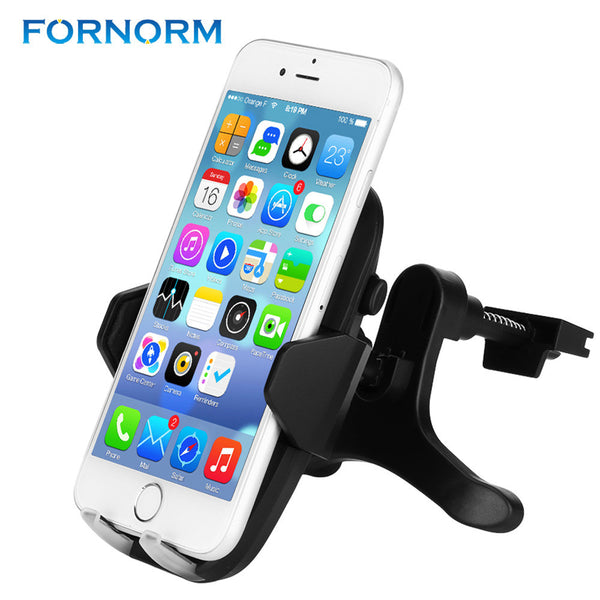 FORNORM 2 in 1 QI Wireless Quiky Charger Car Air Vent Mount Universal Mobile Phone Holder Fast Charger for Samsung Iphone Huawei