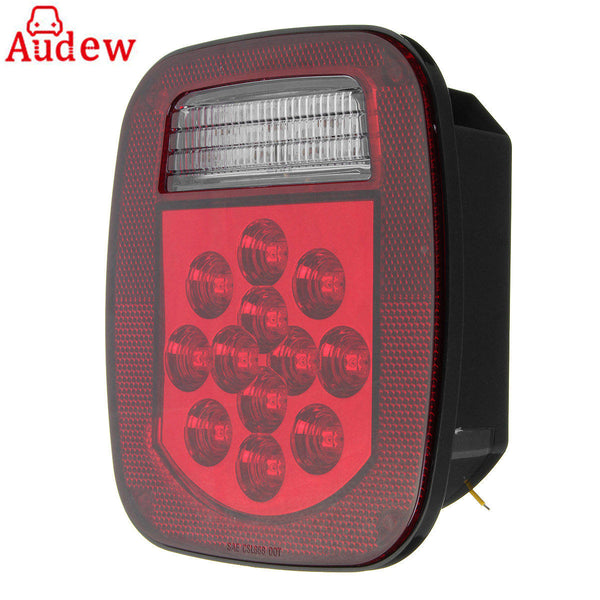 1Pcs  39 LED  Car Rear Stop Turn Light Tail Reverse License Light for Truck/Trailer/Boat/Jeep TJ CJ YJ JK