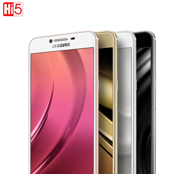 Samsung Galaxy C5 C5000 Mobile Phone 5.2 inch Octa-Core 4GB RAM 32GB/64GB ROM LTE 16MP 2600mAh Dual SIM LTE Android Smartphone