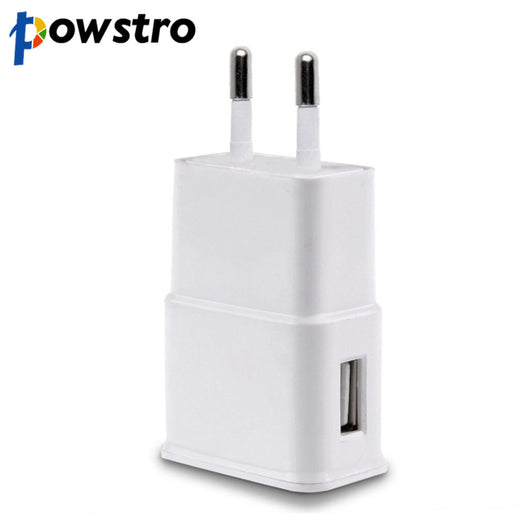 5V 2A Universal Travel USB Charger Adapter Portable Wall Plug EU US Mobile Phone Charger for iPhone Tablet Samsung