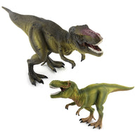 2 Colors Jurassic World Park Tyrannosaurus Rex Dinosaur Plastic Collection Toy Model Action Figures Boys Gifts #E