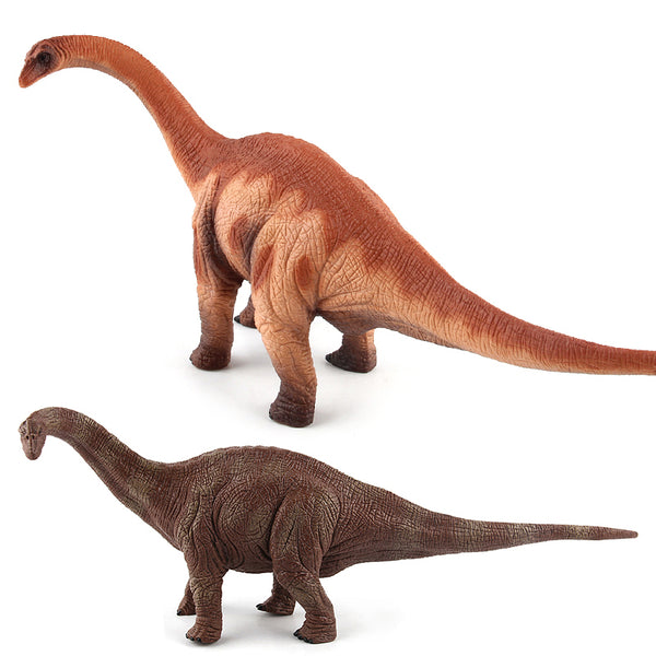2 Colors Jurassic World Park Plastic Dinosaur Toys Brontosaurus Model Action Figures Boys Christmas Gift #E