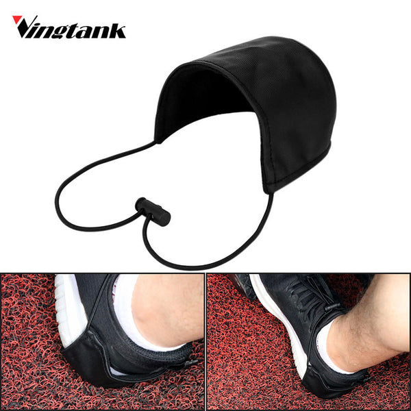 Vingtank Car Driver Shoe Heel Protector Wearproof Shoes Heel Protection Cover for Men Women Wear Shoes Covers black car-styling