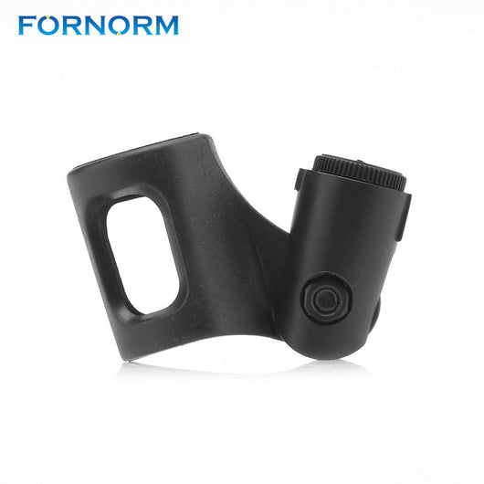 FORNORM Flexible Mic Clip Microphone Stand Plastic Clamp Clip Holder Mount Plastic Clamp For Handhold Microphone