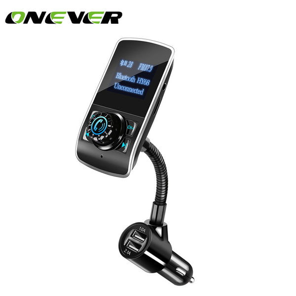 FM Transmitter Wireless Car MP3 Audio Player Bluetooth FM Modulator Car Kit HandsFree LCD Display USB Charger for phones
