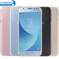 2017 Original Samsung Galaxy J3 J3300 3G 32G 5.0'' Dual SIM Mobile Phone Fingerprint NFC 13.0MP Snapdragon  Quad Core Cell phone