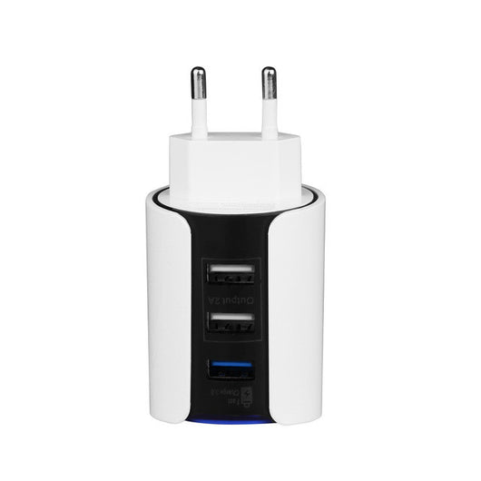 Powstro QC 3.0 Charger 3USB Wall Charger Quick Charge 3.0 QC 2.0 EU Plug for iphone Samsung Xiaomi mi5 Mobile Phone Fast Charger