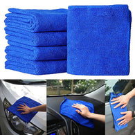 Auto Care 10PCS Ultra Soft Microfiber Towel Car Washing Cloth for Car Polish& Wax Car Care Styling Cleaning Microfibre 25*25cm