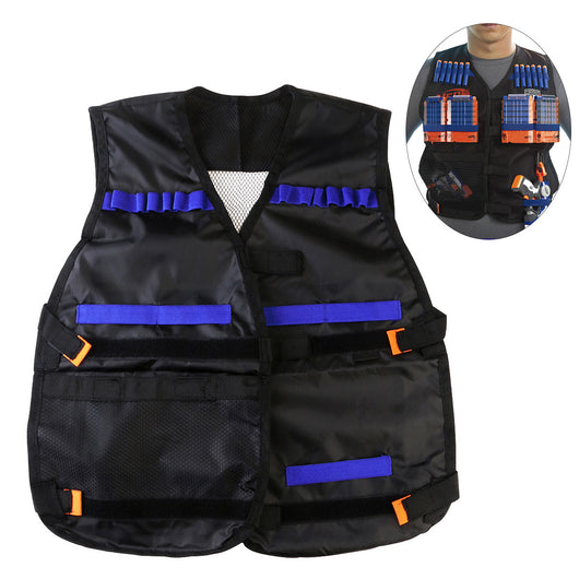 Tactical Vest Adjustable for Nerf N-Strike Elite Battle Game
