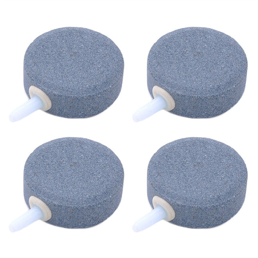 4pcs 4cm Airstone for Aquarium Air Bubble Stone Oxygen Stone for Fish Tank Round Oxygen Diffuser
